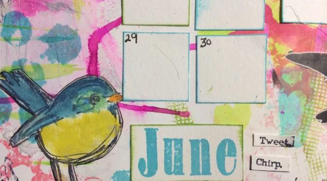 art calendar – june
