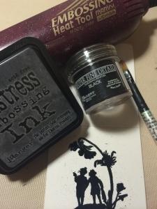 ranger embossing ink/powder