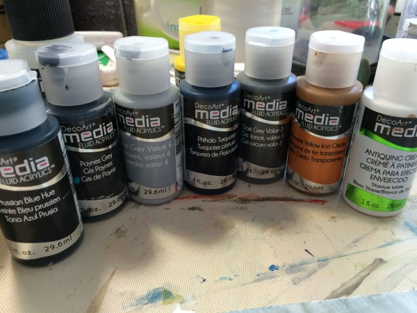 deco media paints