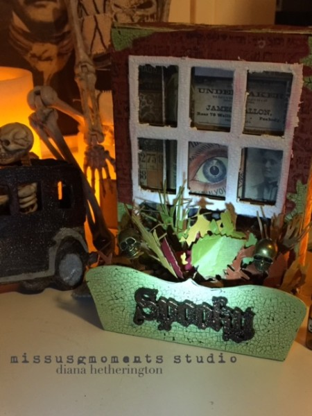 Eileen Hull window box 3D dies