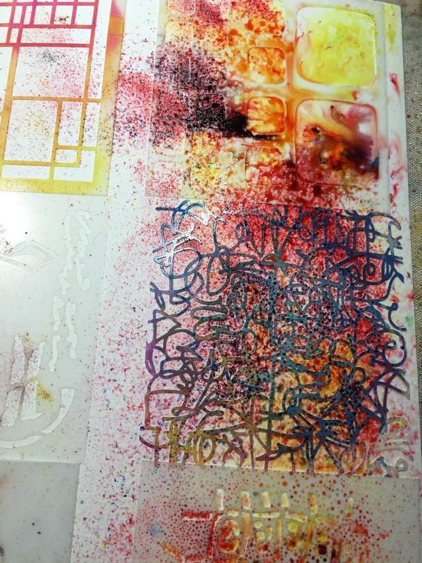 color burst cards