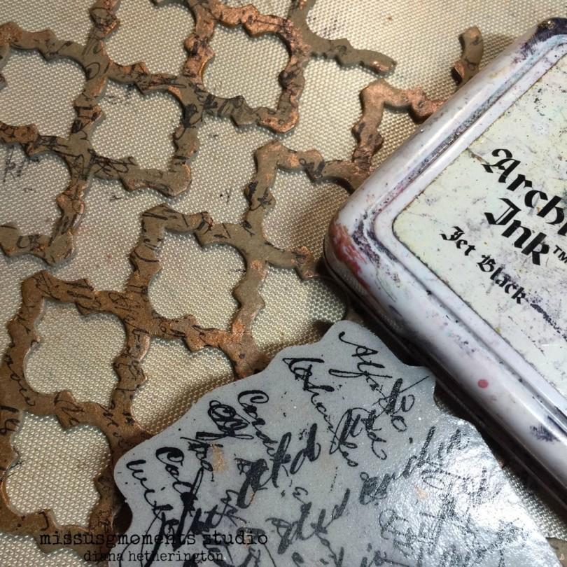 stamping trellis