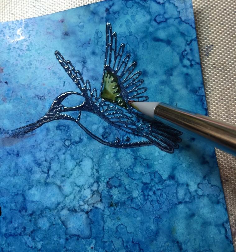 Emerald Creek hummer