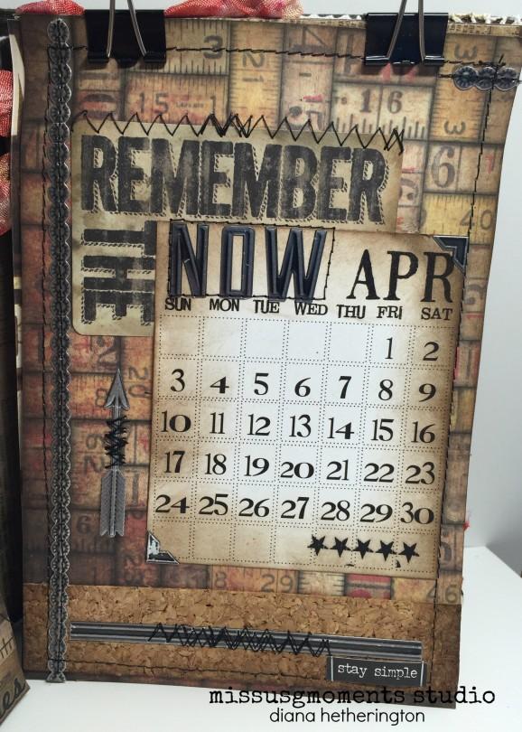 distress calendar April