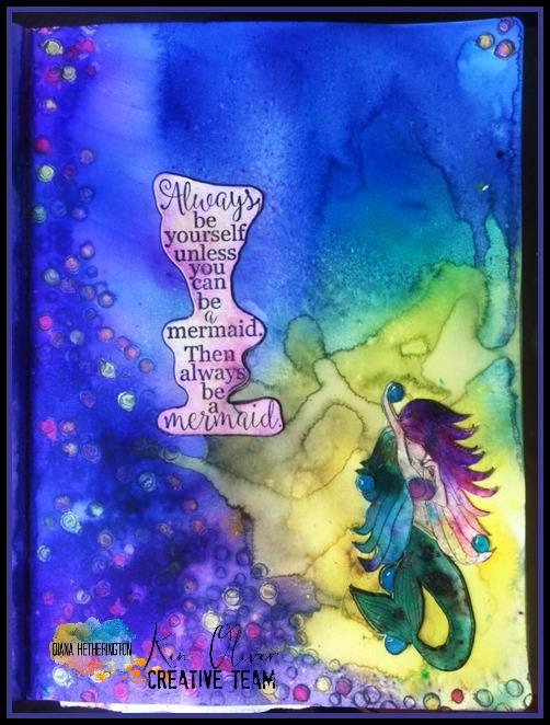 mermaid artjournal
