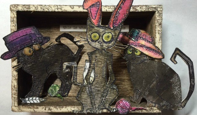Family Portraits- Easter bonnets