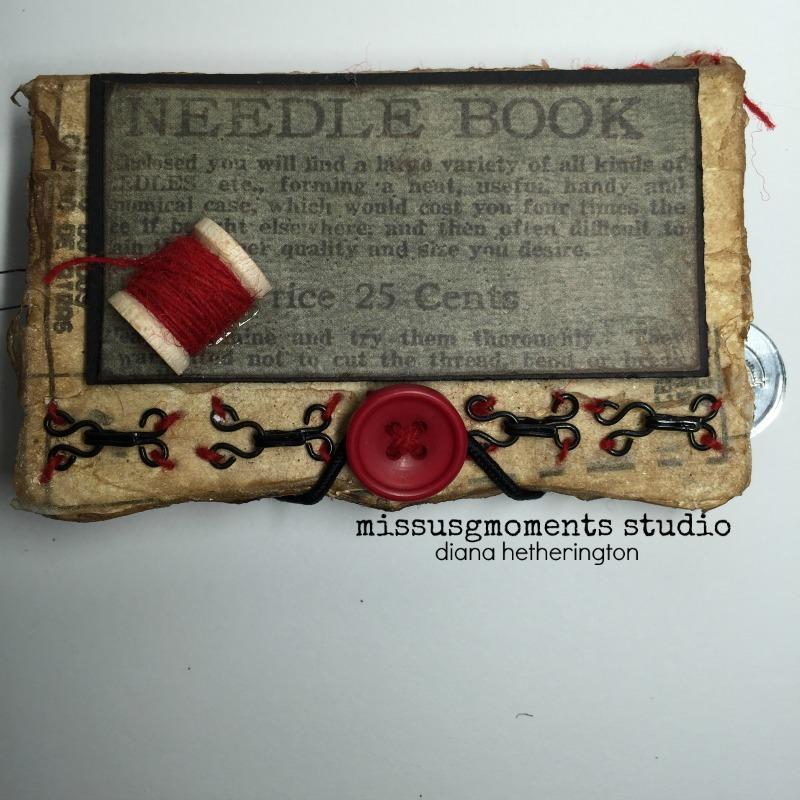 Eileen Hull needle book