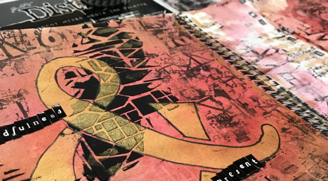 Mixed Media Monthly Challenge #44 – mid month posting!!