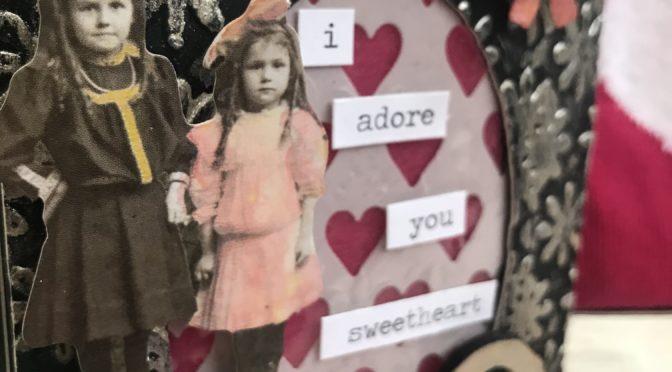 Eileen Hull trinket box valentine – here is the key to my heart